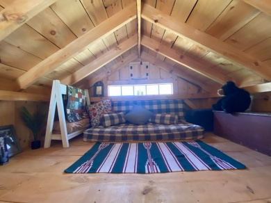 The loft space above